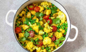 Turmeric Cauliflower Curry – Fresh Turmeric Recipes Vegetarian