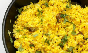 Turmeric Lemon Rice Recipe – Vegan Richa – Recipes With Rice Vegetarian