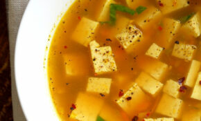 Turmeric Miso Soup With Ginger, Garlic And Tofu – Recipes Soup Vegetarian
