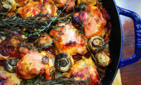Tuscan Tomato Chicken Skillet With Rosemary And Thyme – Chicken Recipes Dutch Oven