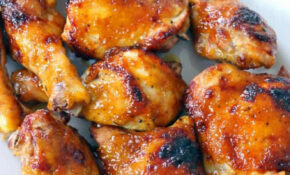 Two Ingredient Crispy Oven Baked BBQ Chicken – Chicken Recipes Easy Oven