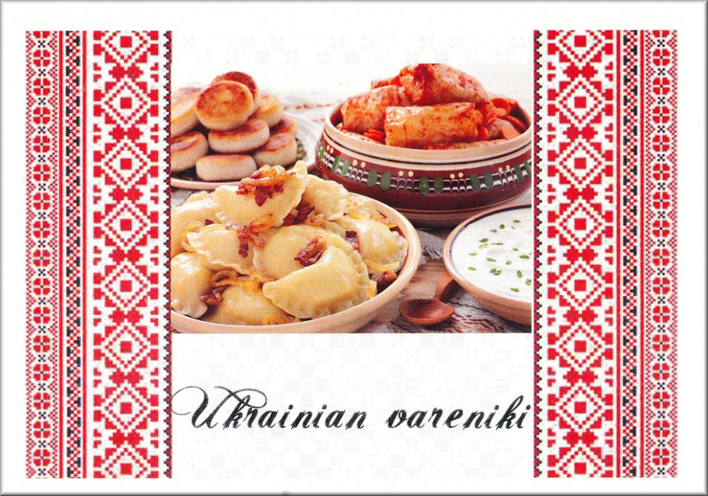 Ukrainian Vareniki - ukrainian food recipes