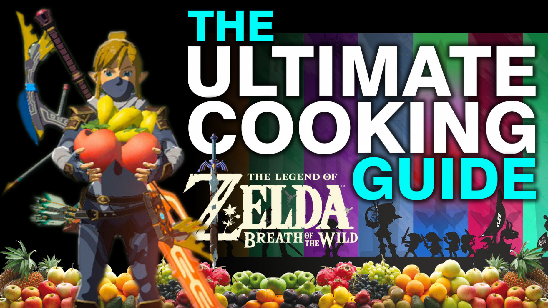 Ultimate Cooking Guide for the Legend Of Zelda Breath Of The ..