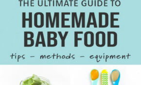 Ultimate Guide On How To Make Homemade Baby Food – Baby Foode – Baby Food Recipes