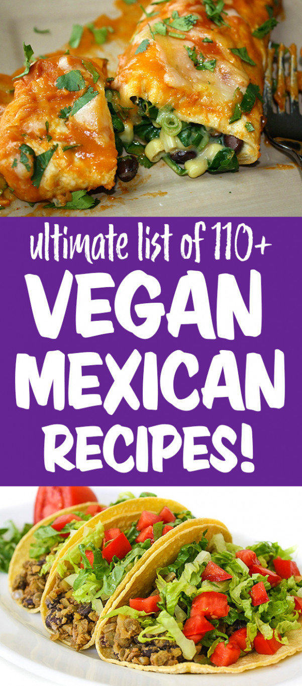 Ultimate List of Vegan Mexican Recipes | The Garden Grazer - recipes for mexican food