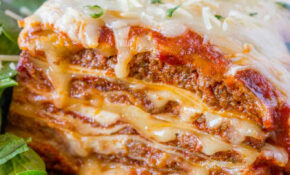Ultimate Meat Lasagna – Dinner, Then Dessert – Italian Food Recipes With Pictures