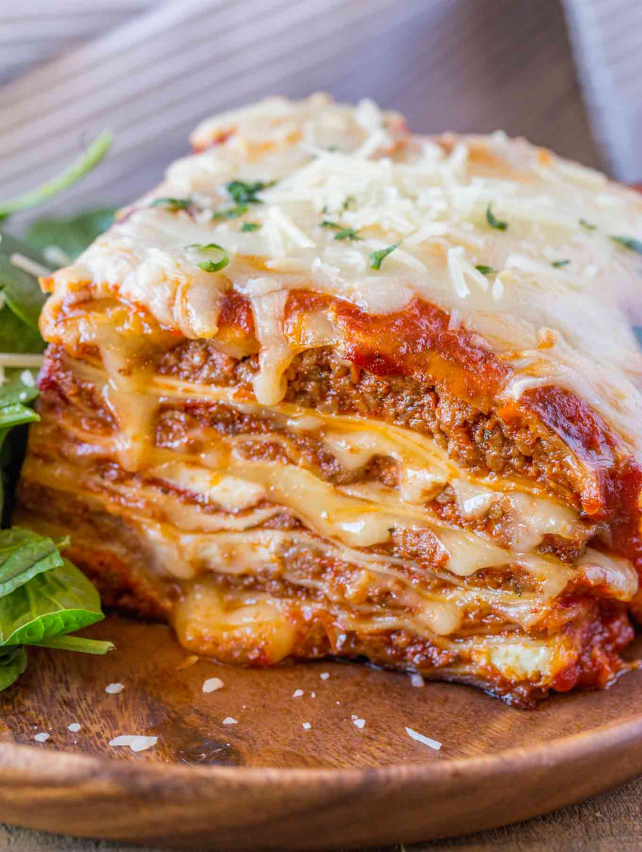 Ultimate Meat Lasagna - Dinner, then Dessert - italian food recipes with pictures