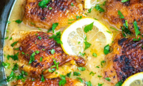 Ultimate Slow Cooker Lemon Chicken Thighs – Chicken Recipes Thighs