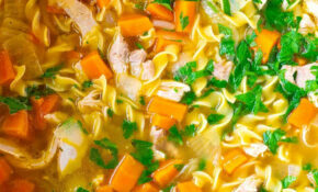 Ultra Satisfying Homemade Chicken Noodle Soup – Healthy Dinner Recipes Chicken