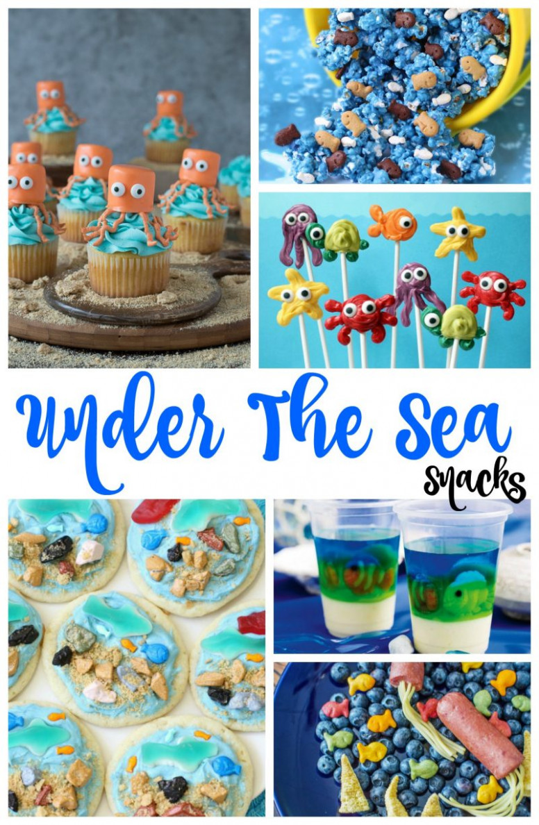Under the Sea Snacks - Perfect Ocean Theme Party Ideas ..