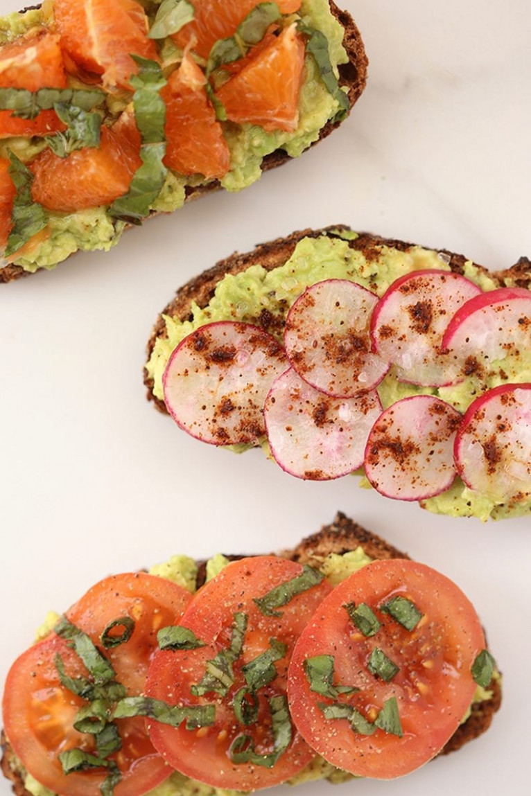 Unique Avocado Toast Recipes - The Healthy Maven - unique food recipes