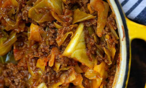 Unstuffed Cabbage Rollls – All Of The Flavor With Hardly Any ..