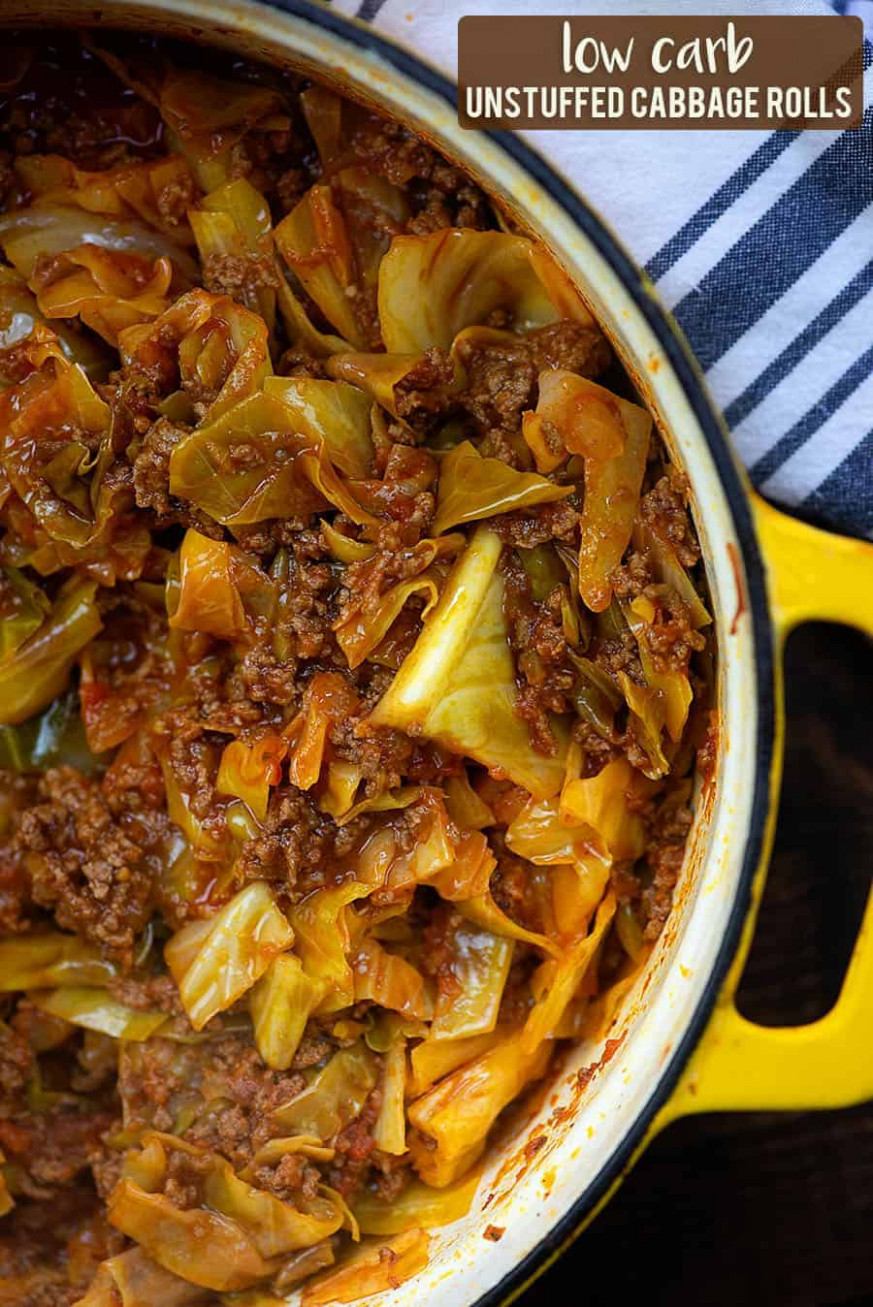 Unstuffed Cabbage Rollls - All Of The Flavor With Hardly Any ..