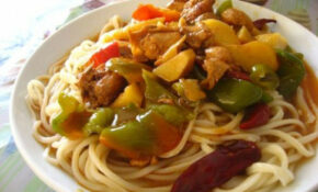 Uyghur Laghman Noodles – Silk Road Chef – Uyghur Food Recipes