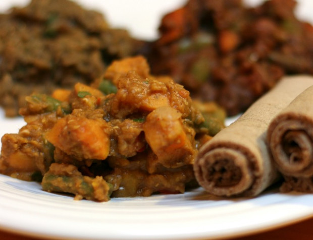 V e g a n D a d: Ethiopian Sweet Potato Stew - ethiopian recipes vegetarian