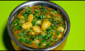Vaal Nu Shaak /Lima Beans/Butter Beans Curry Recipe By Bhavisha Brahmbhatt