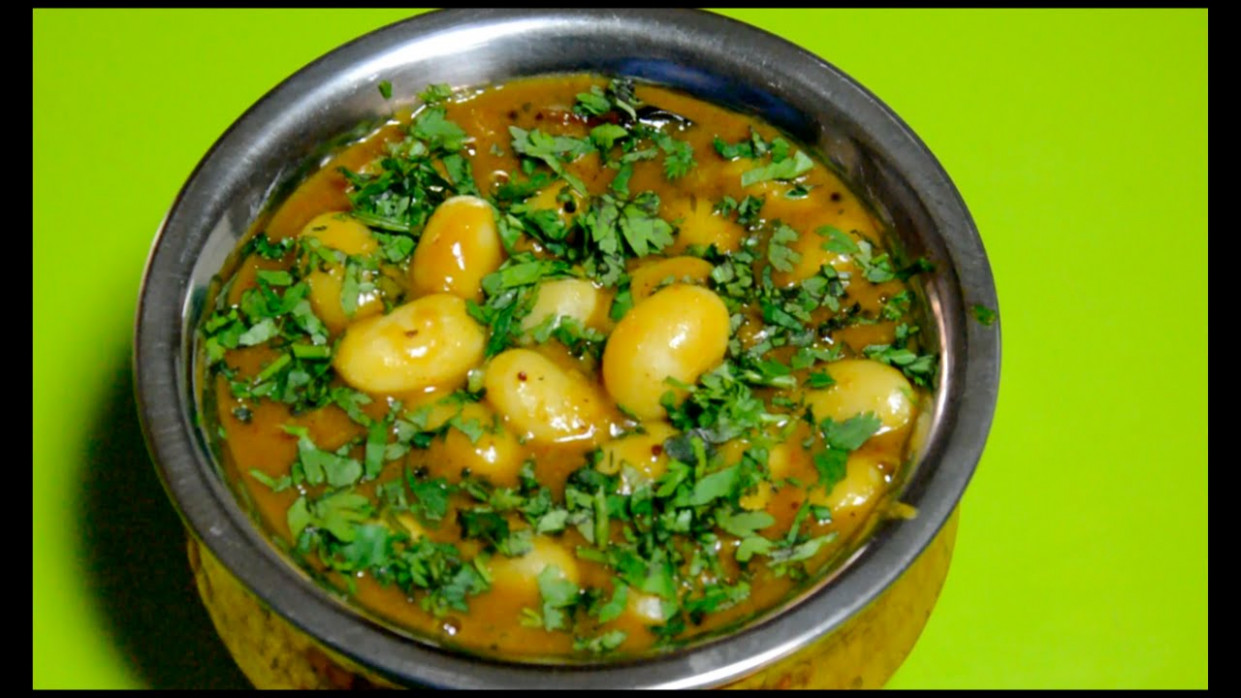 Vaal Nu Shaak /Lima Beans/Butter Beans Curry Recipe By Bhavisha Brahmbhatt - Recipes Butter Beans Vegetarian