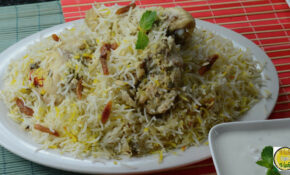 VahChef Special White Chicken Biryani – By VahChef ..