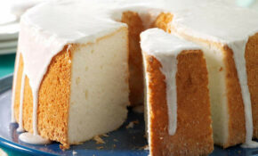 Vanilla Bean Angel Food Cake Recipe | Taste Of Home – Recipes Angel Food Cake