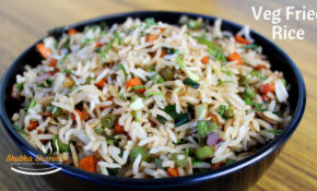 Veg Fried Rice   Quick And Easy Fried Rice – Food Recipes Kannada