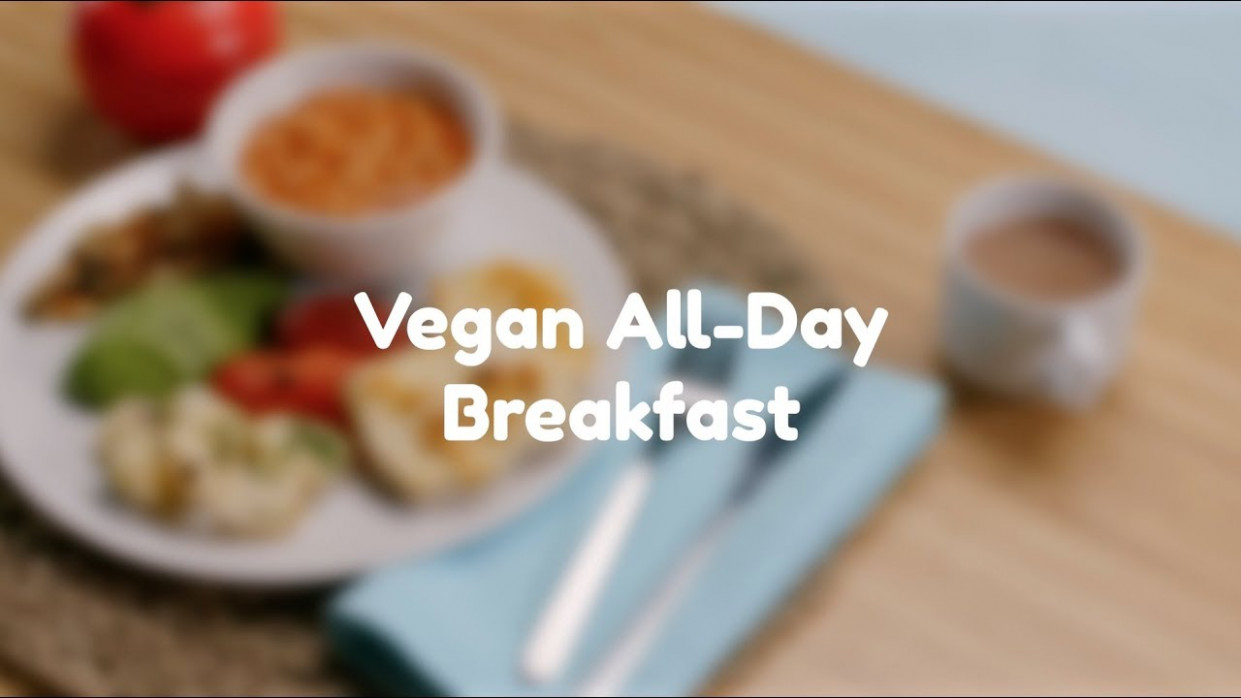 Vegan All Day Breakfast - Love Canned Food - Recipes With Canned Food