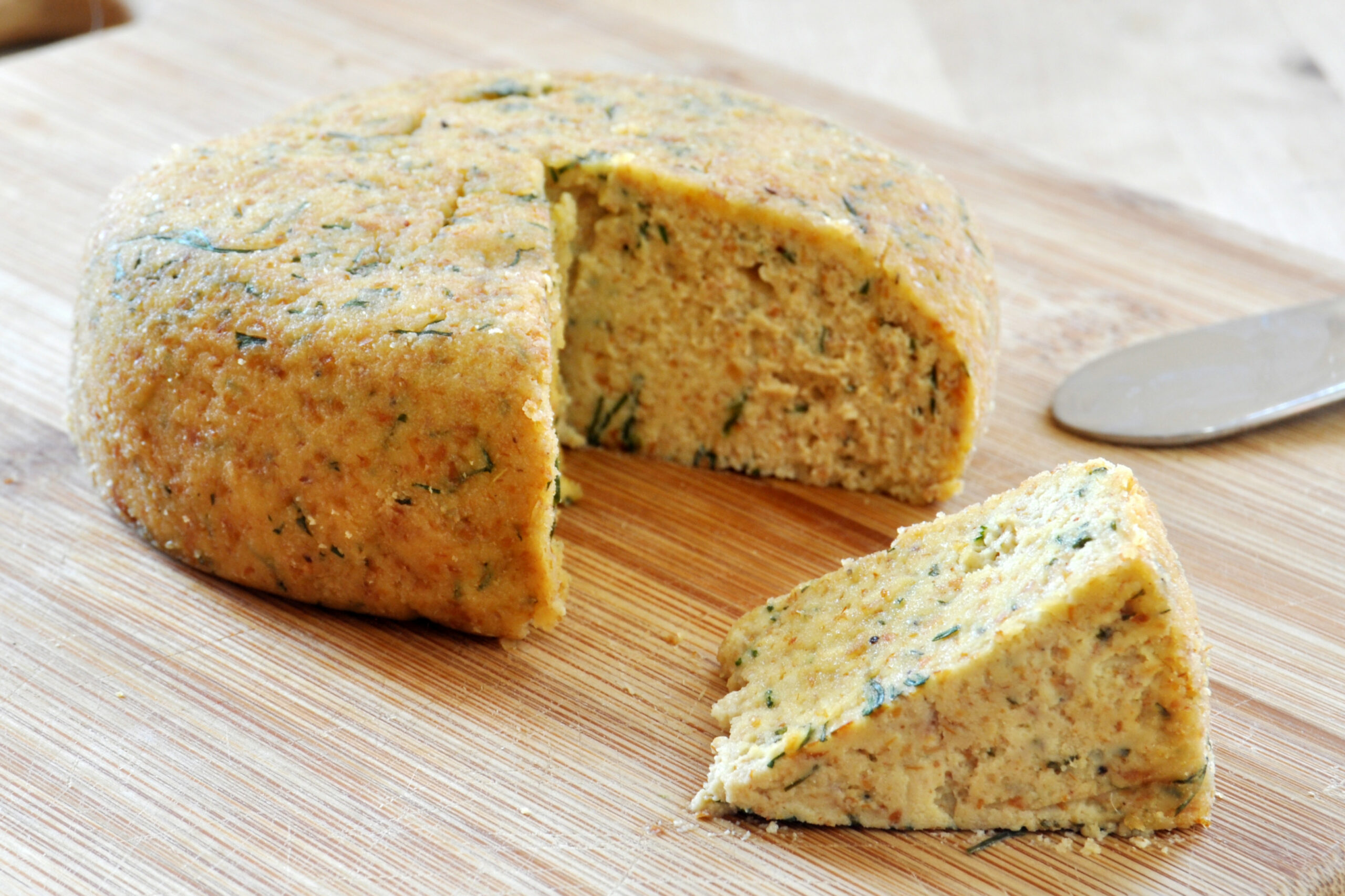 Vegan Almond Dill Cheese - The Colorful Kitchen - dill recipes vegetarian