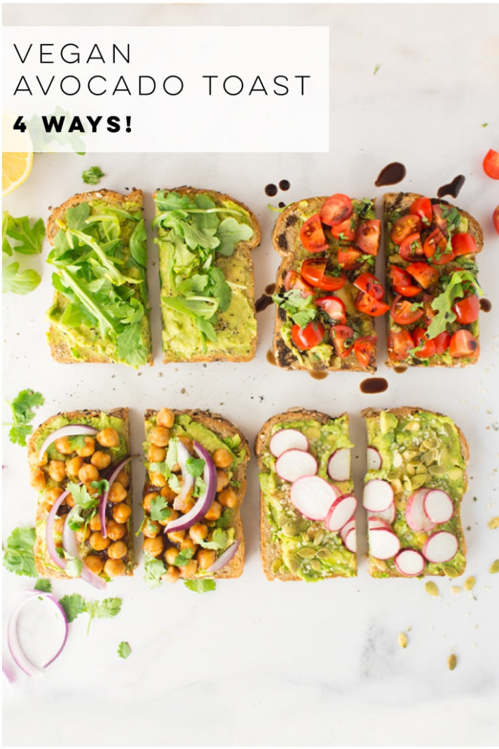 Vegan Avocado Toast - 13 Ways! + VIDEO | Mindful Avocado - avocado recipes vegetarian
