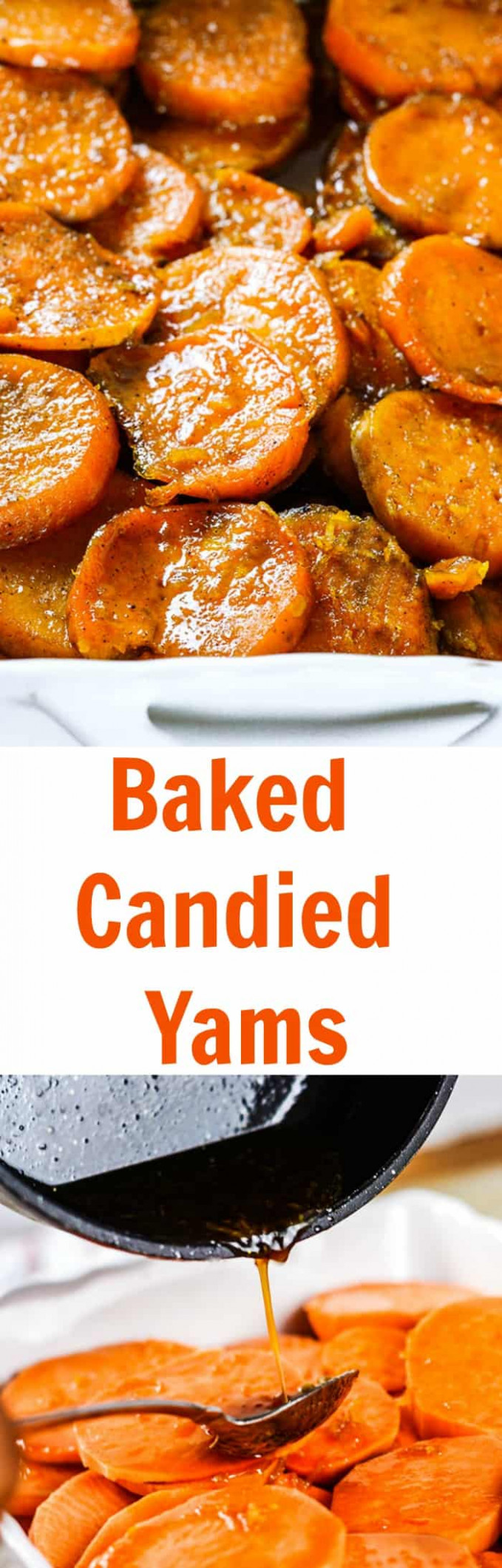 Vegan Baked Candied Yams | Healthier Steps - healthy yam recipes
