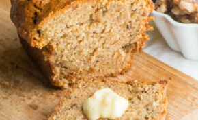 Vegan Banana Bread – Recipe Vegetarian Nut Loaf