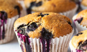Vegan Blueberry Muffins – Recipes Blueberry Muffins Healthy