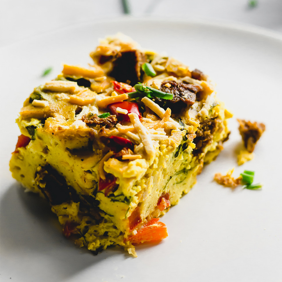 Vegan Breakfast Casserole - vegan and healthy recipes