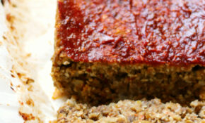 Vegan Cauliflower Lentil Loaf – Recipe Vegetarian Nut Loaf