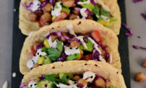 Vegan Chickpea Tacos | Gluten Free Healthy Recipe – Elavegan – Recipes Vegetarian And Gluten Free