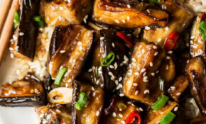 Vegan Chinese Aubergine – Lazy Cat Kitchen – Eggplant Recipes Vegetarian