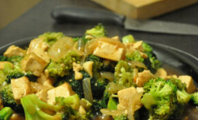 Vegan Chinese Broccoli And Tofu In Garlic Sauce Recipe – Recipes With Broccoli Vegetarian