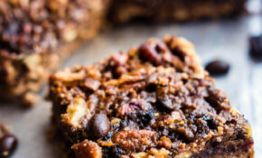 Vegan Coffee Pecan Pie Bars Easy Paleo Recipe – Paleo Recipes Vegetarian