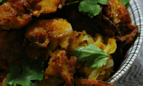 Vegan Corn Flour Onion Bhajis - The Vegan Eskimo | Recipes ...