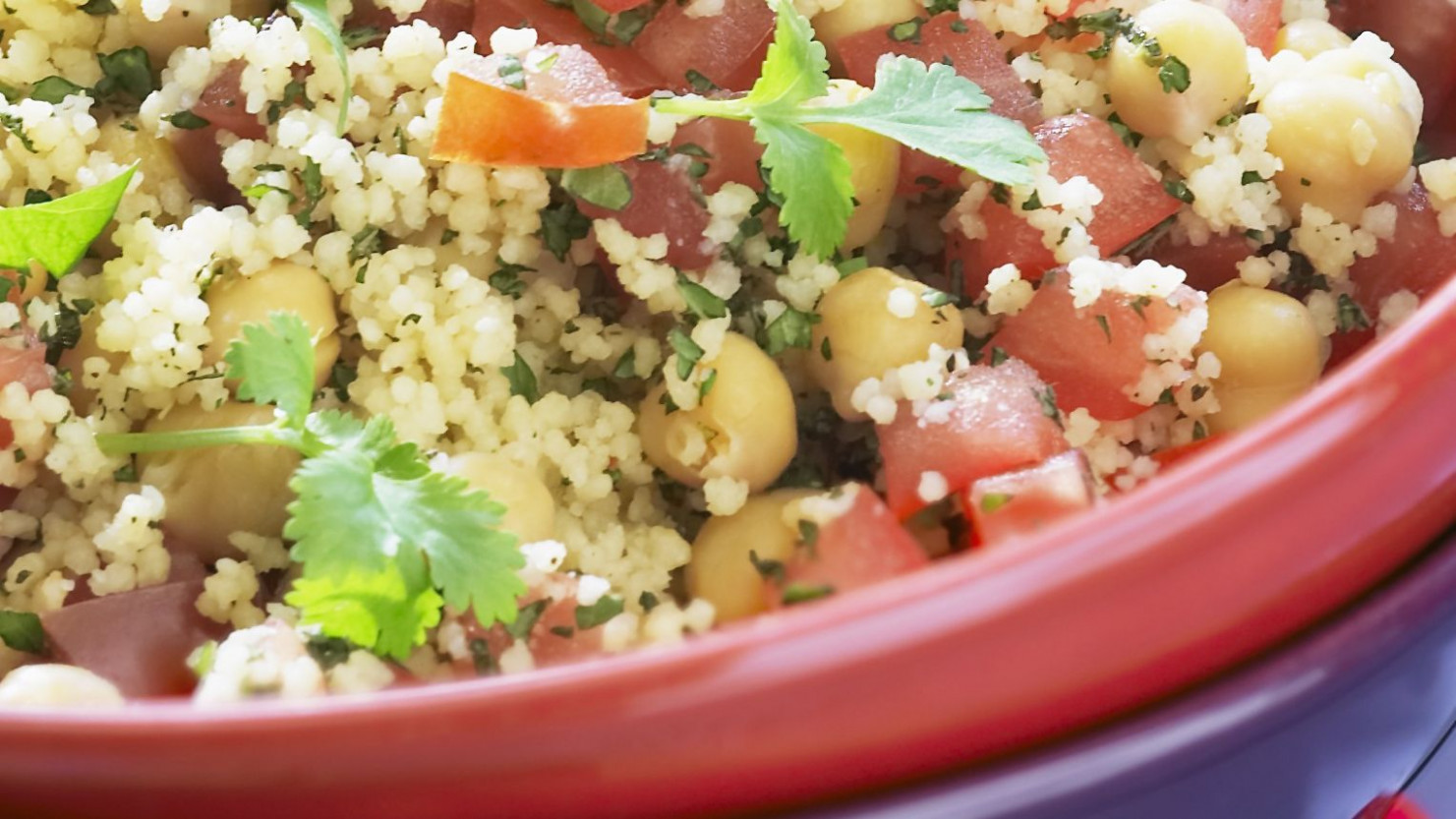 Vegan Couscous Salad With Chickpeas - recipes with couscous vegetarian