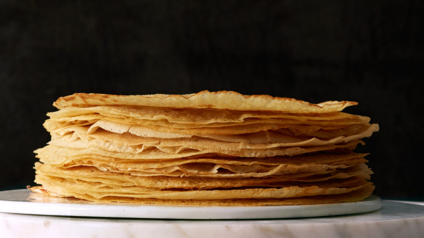 Vegan Crepes - dinner party recipes