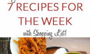 Vegan Dinner Meal Plan: 7 Recipes For The Week With ..