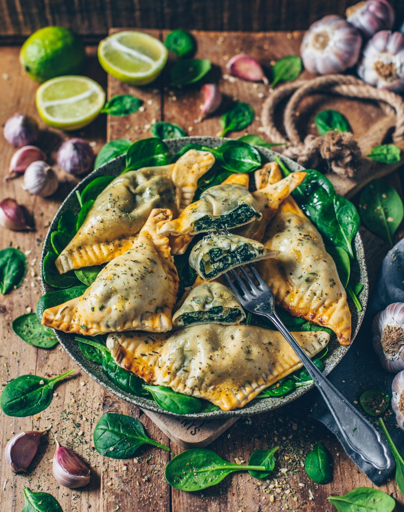 Vegan Dumplings Stuffed With Spinach And Cashew Ricotta - Vegetarian Recipes Japanese