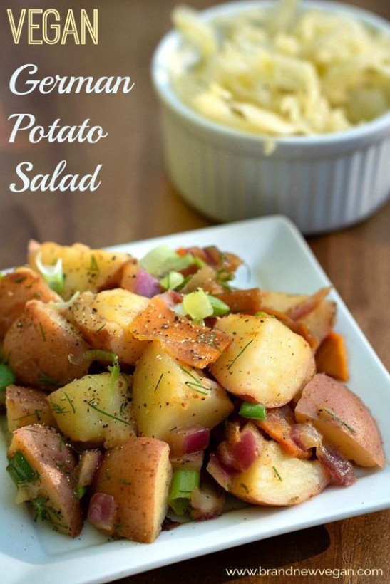 Vegan German Potato Salad | Recipe | VEgAN | Pinterest ..