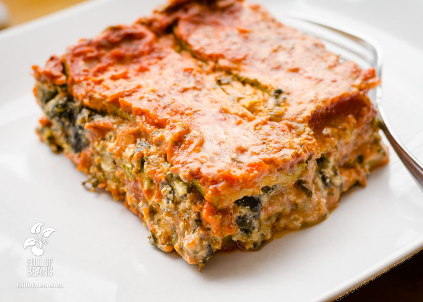 Vegan Gluten-Free Lasagna - recipes vegetarian lasagne