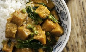 Vegan Gluten Free Red Curry Tofu With Vegetables – Recipe Vegetarian Red Curry