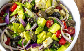 Vegan Greek Salad | Recipe In 2019 | Side Salad Recipes ..
