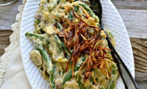 Vegan Green Bean Casserole – Recipes Green Bean Casserole Healthy
