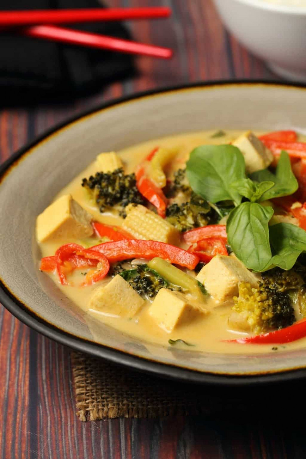 Vegan Green Curry - Recipes Vegetarian Curry