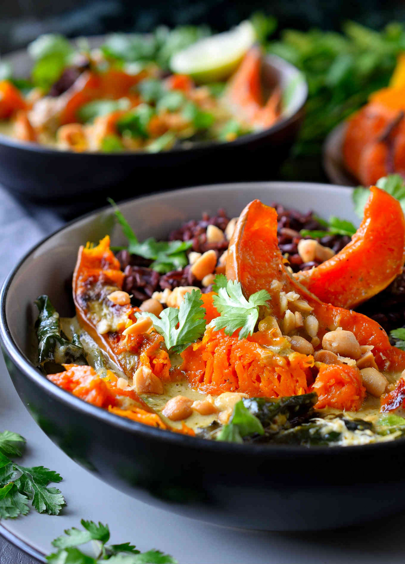 Vegan Green Curry With Winter Vegetables | Cilantro And ..
