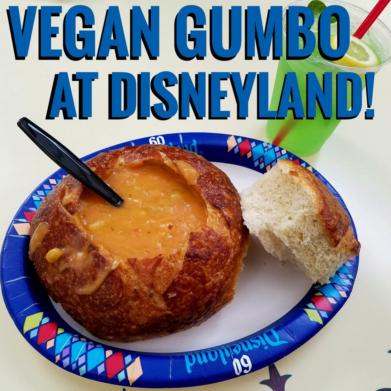 Vegan Gumbo at Disneyland! - recipe vegetarian gumbo