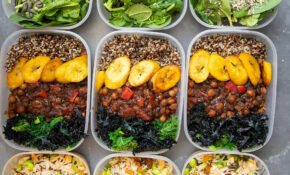 VEGAN HIGH PROTEIN MEAL PREP In 10 | Vegan Meal Plans ..